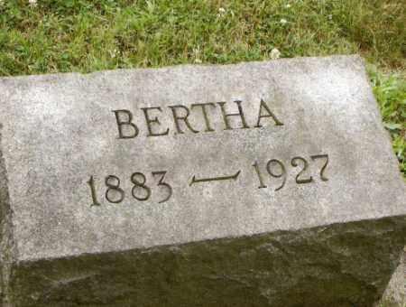 OCHSENBEIN, BERTHA - Belmont County, Ohio | BERTHA OCHSENBEIN - Ohio Gravestone Photos