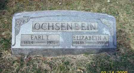 OCHSENBEIN, ELIZABETH A - Belmont County, Ohio   ELIZABETH A OCHSENBEIN - Ohio Gravestone Photos