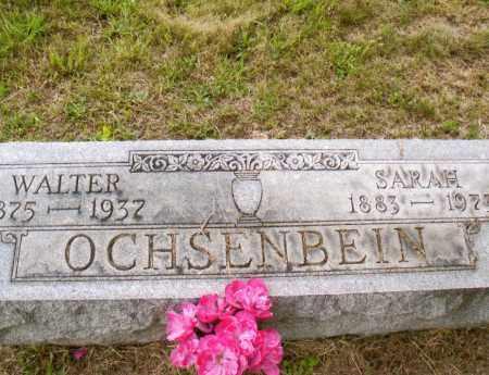 CRIDER OCHSENBEIN, SARAH JANE - Belmont County, Ohio | SARAH JANE CRIDER OCHSENBEIN - Ohio Gravestone Photos