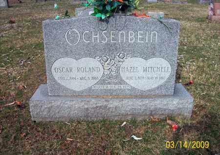 OCHSENBEIN, OSCAR ROLAND - Belmont County, Ohio   OSCAR ROLAND OCHSENBEIN - Ohio Gravestone Photos