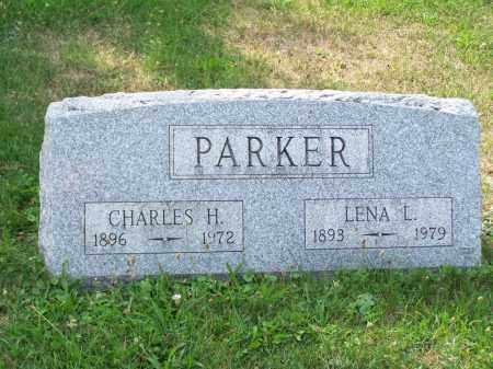 PARKER, LENA L - Belmont County, Ohio | LENA L PARKER - Ohio Gravestone Photos