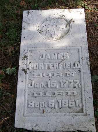 PORTERFIELD, JAMES - Belmont County, Ohio | JAMES PORTERFIELD - Ohio Gravestone Photos