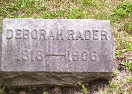 RADER, DEBORAH M - Belmont County, Ohio | DEBORAH M RADER - Ohio Gravestone Photos