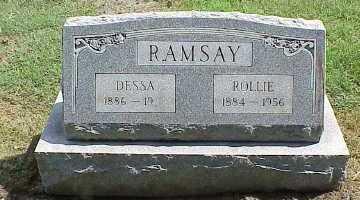 RAMSAY, DESSA - Belmont County, Ohio | DESSA RAMSAY - Ohio Gravestone Photos