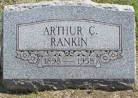RANKIN, ARTHUR C. - Belmont County, Ohio   ARTHUR C. RANKIN - Ohio Gravestone Photos