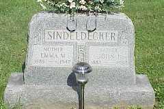SINDELDECKER, EMMA M. - Belmont County, Ohio | EMMA M. SINDELDECKER - Ohio Gravestone Photos