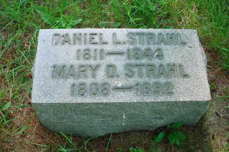 STRAHL, DANIEL L. - Belmont County, Ohio   DANIEL L. STRAHL - Ohio Gravestone Photos