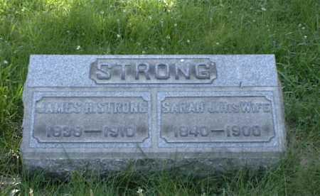 STRONG, SARAH - Belmont County, Ohio | SARAH STRONG - Ohio Gravestone Photos