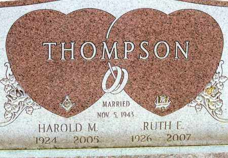 THOMPSON, HAROLD M - Belmont County, Ohio | HAROLD M THOMPSON - Ohio Gravestone Photos