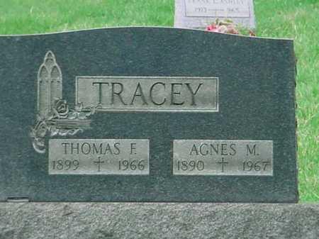 TRACEY, AGNES M. - Belmont County, Ohio | AGNES M. TRACEY - Ohio Gravestone Photos