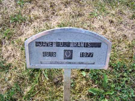 TRAVIS, JAME O - Belmont County, Ohio   JAME O TRAVIS - Ohio Gravestone Photos
