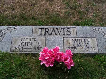 TRAVIS, IDA M - Belmont County, Ohio | IDA M TRAVIS - Ohio Gravestone Photos