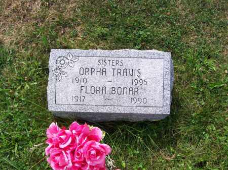 BONAR, FLORA - Belmont County, Ohio   FLORA BONAR - Ohio Gravestone Photos