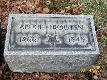 OCHSENBEIN TROUTEN, ADDIE - Belmont County, Ohio | ADDIE OCHSENBEIN TROUTEN - Ohio Gravestone Photos