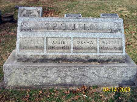 TROUTEN, DERMA - Belmont County, Ohio | DERMA TROUTEN - Ohio Gravestone Photos