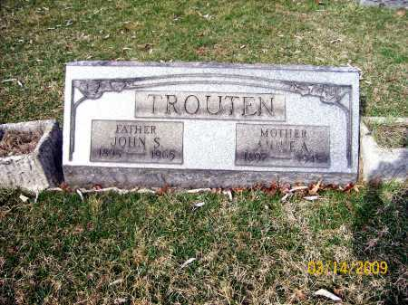 TROUTEN, JOHN S. - Belmont County, Ohio | JOHN S. TROUTEN - Ohio Gravestone Photos