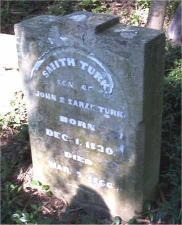 TURK, SMITH - Belmont County, Ohio | SMITH TURK - Ohio Gravestone Photos