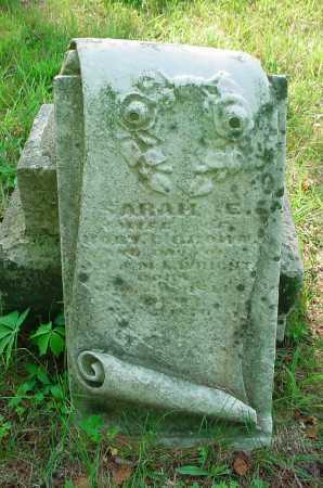 UNKNOWN, SARAH E. - Belmont County, Ohio | SARAH E. UNKNOWN - Ohio Gravestone Photos