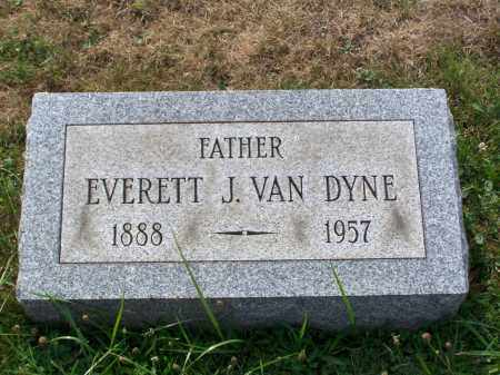VAN DYNE, EVERETT J - Belmont County, Ohio | EVERETT J VAN DYNE - Ohio Gravestone Photos