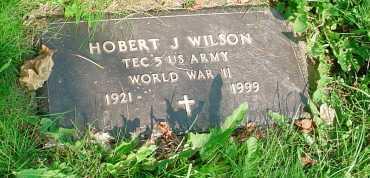 WILSON, HOBERT J. - Belmont County, Ohio | HOBERT J. WILSON - Ohio Gravestone Photos