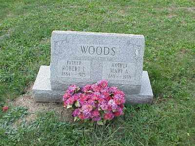 WOODS, ROBERT LEE - Belmont County, Ohio | ROBERT LEE WOODS - Ohio Gravestone Photos