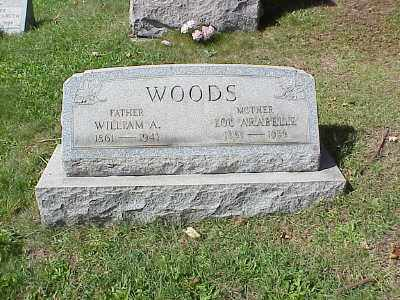 WOODS, LOU ARABELLA - Belmont County, Ohio | LOU ARABELLA WOODS - Ohio Gravestone Photos