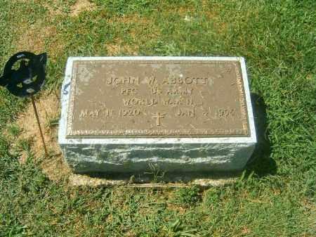 ABBOTT, JOHN  W - Brown County, Ohio | JOHN  W ABBOTT - Ohio Gravestone Photos