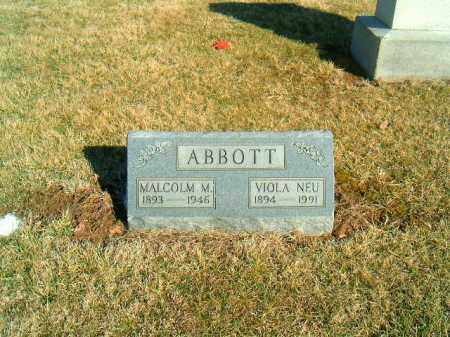 NEU ABBOTT, VIOLA - Brown County, Ohio | VIOLA NEU ABBOTT - Ohio Gravestone Photos