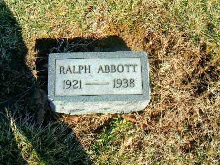 ABBOTT, RALPH - Brown County, Ohio | RALPH ABBOTT - Ohio Gravestone Photos