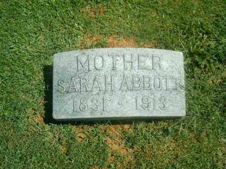 ABBOTT, SARAH - Brown County, Ohio | SARAH ABBOTT - Ohio Gravestone Photos