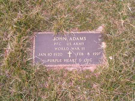 ADAMS, JOHN - Brown County, Ohio | JOHN ADAMS - Ohio Gravestone Photos