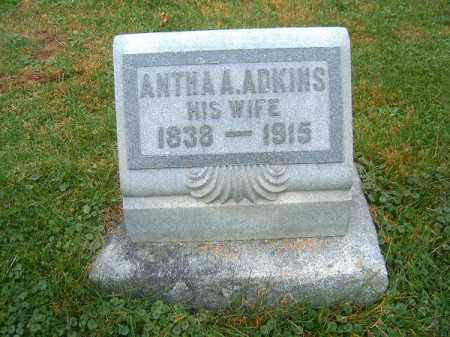 ADKINS, ANTHA  A - Brown County, Ohio | ANTHA  A ADKINS - Ohio Gravestone Photos