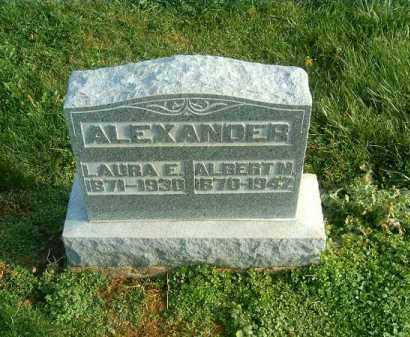 ALEXANDER, LAURA   E - Brown County, Ohio   LAURA   E ALEXANDER - Ohio Gravestone Photos
