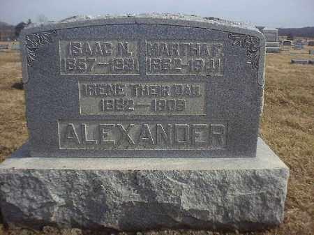 ALEXANDER, IRENE - Brown County, Ohio   IRENE ALEXANDER - Ohio Gravestone Photos