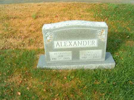 ALEXANDER, MARTHA - Brown County, Ohio | MARTHA ALEXANDER - Ohio Gravestone Photos