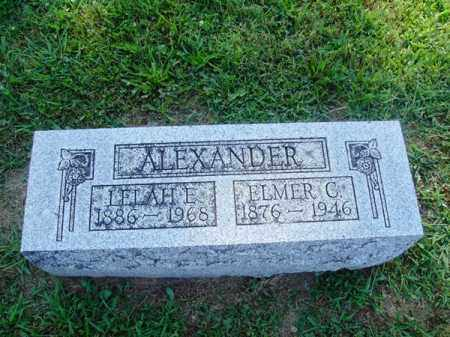 ALEXANDER, ELMER - Brown County, Ohio | ELMER ALEXANDER - Ohio Gravestone Photos
