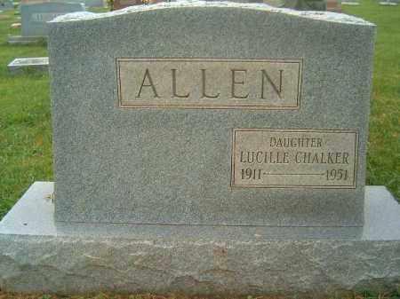 ALLEN, LUCILLE - Brown County, Ohio   LUCILLE ALLEN - Ohio Gravestone Photos