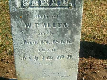 ALLEN, SARAH - Brown County, Ohio | SARAH ALLEN - Ohio Gravestone Photos