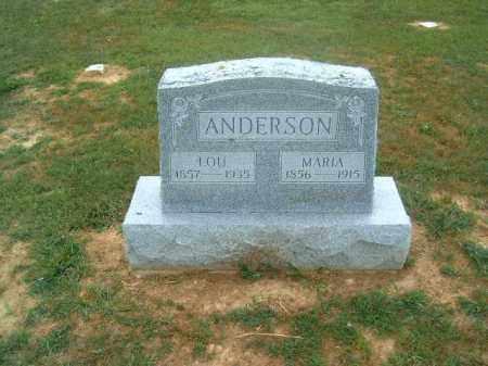 ANDERSON, MARIA - Brown County, Ohio | MARIA ANDERSON - Ohio Gravestone Photos