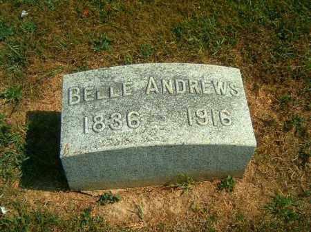 ANDREWS, BELLE - Brown County, Ohio | BELLE ANDREWS - Ohio Gravestone Photos