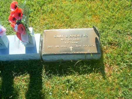 ANDREWS, GARY  L - Brown County, Ohio | GARY  L ANDREWS - Ohio Gravestone Photos