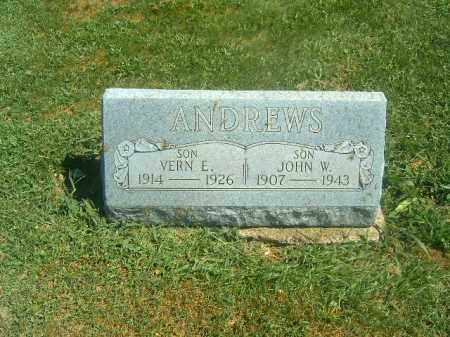 ANDREWS, VERN  E - Brown County, Ohio | VERN  E ANDREWS - Ohio Gravestone Photos