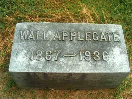 APPLEGATE, WALL - Brown County, Ohio | WALL APPLEGATE - Ohio Gravestone Photos