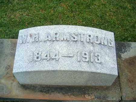 ARMSTRONG, W  H - Brown County, Ohio | W  H ARMSTRONG - Ohio Gravestone Photos