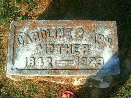 ARN, CAROLINE  B - Brown County, Ohio | CAROLINE  B ARN - Ohio Gravestone Photos
