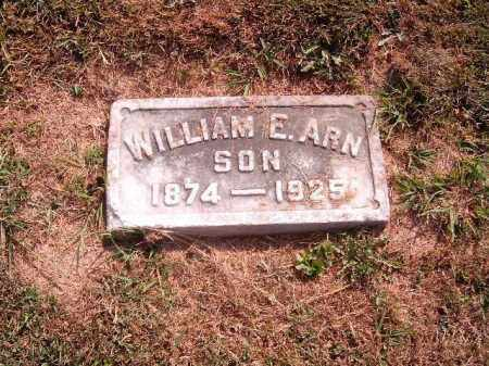 ARN, WILLIAM  E - Brown County, Ohio | WILLIAM  E ARN - Ohio Gravestone Photos
