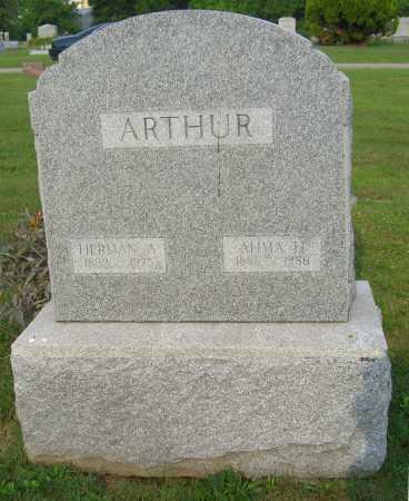 AUGUSTUS ARTHUR, HERMAN - Brown County, Ohio | HERMAN AUGUSTUS ARTHUR - Ohio Gravestone Photos