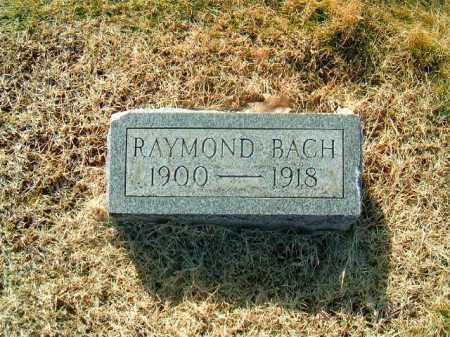 BACH, RAYMOND - Brown County, Ohio | RAYMOND BACH - Ohio Gravestone Photos