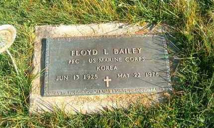 BAILEY, FLOYD  L - Brown County, Ohio | FLOYD  L BAILEY - Ohio Gravestone Photos