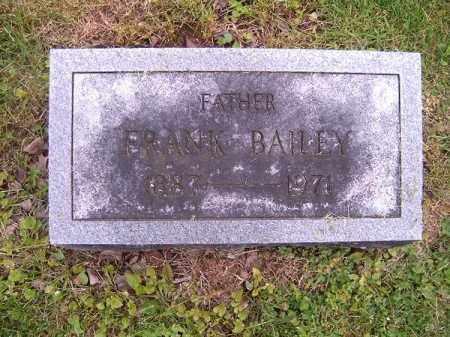 BAILEY, FRANK - Brown County, Ohio | FRANK BAILEY - Ohio Gravestone Photos